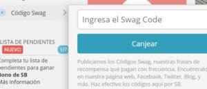 Codigo Swag