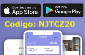 Arbor App disponible en Android e ios